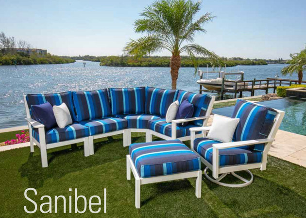 Sanibel Sectional Deep Seating