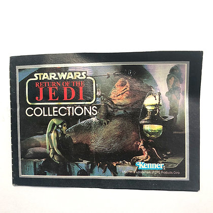 STAR WARS - Return of the Jedi - 1983 - 20 page Product Catalog