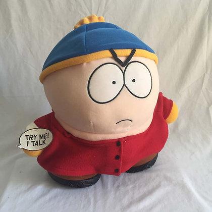 Southpark, Cartman, talker,  toys, pee wee herman, star wars, star trek, simpsons, super heroes, weird toys