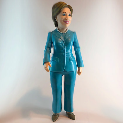 "HILLARY CLINTON - 6"" Political Action Figure - FCTRY - NEW IN BOX"