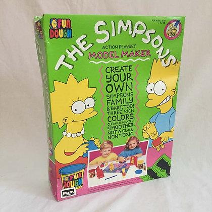 simpsons model maker,collectibles toys.batman, pee wee herman, star wars, star trek, simpsons, super heroes, weird toys
