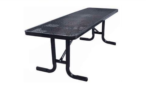 6' Free Standing Picnic Table Surface Mount L2-T8XPP