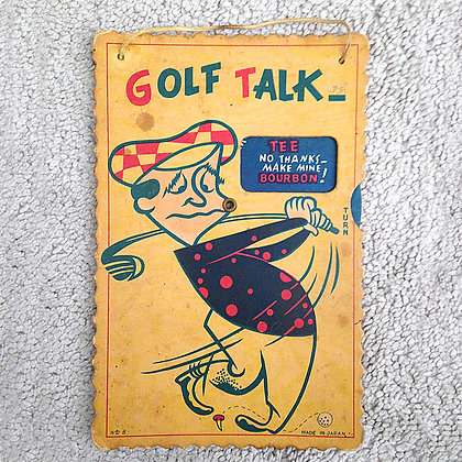 Golf, golf stuff, super heroes, pee wee herman, star wars, star trek, simpsons, weird toys
