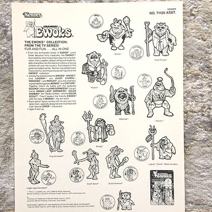 Kenner Ewoks Clip Art by Kwikee-1985
