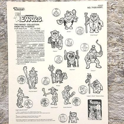 Kenner Ewoks Clip Art by Kwikee-1985