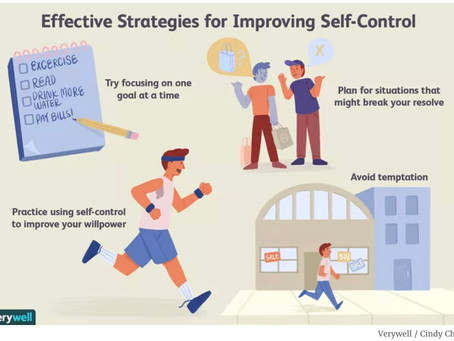 How to Improve Your Self-Control
