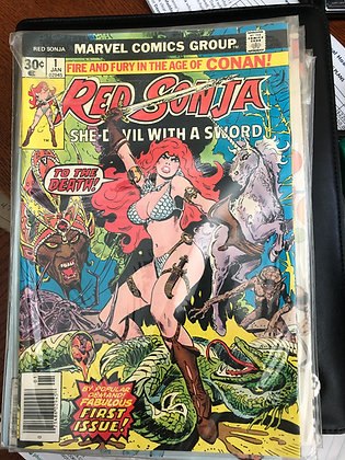 Red Sonja #1 - Marvel 1980