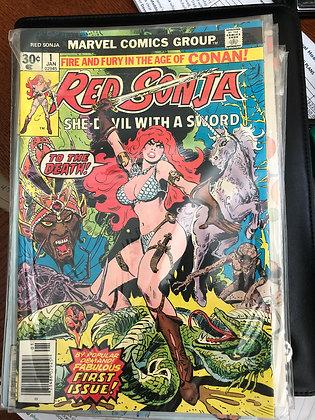 Red Sonja #1 - Marvel 1980