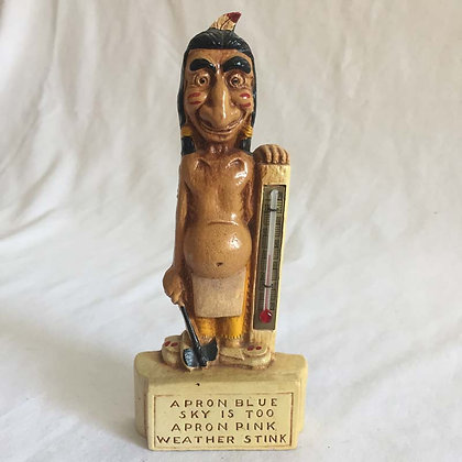 Indian Weather Predictor, 1960s, collectibles, toys, pee wee herman, star wars, star trek, simpsons, super heroes, weird toys