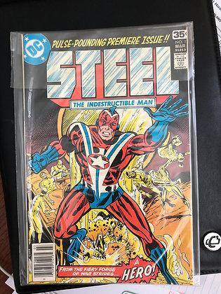 STEEL #1- DC Comics - 1978
