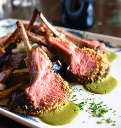La-Violetta--Rack-of-lamb-with-Pistacios