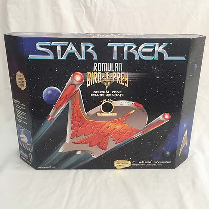 star trek, romulan bird of prey, collectibles toys, batman, pee wee herman, star wars, simpsons, super heroes, weird toys