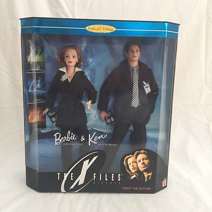 barbie, x-files, mulder, collectibles, dolls, toys, pee wee herman, star wars, star trek, simpsons, super heroes, weird toys