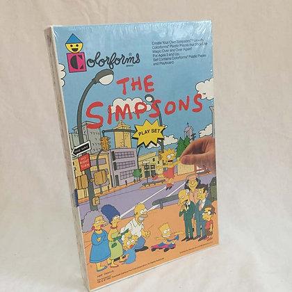 Simpsons, collectibles toys, batman, pee wee herman, star wars, star trek, simpsons, super heroes, weird toys, colorforms