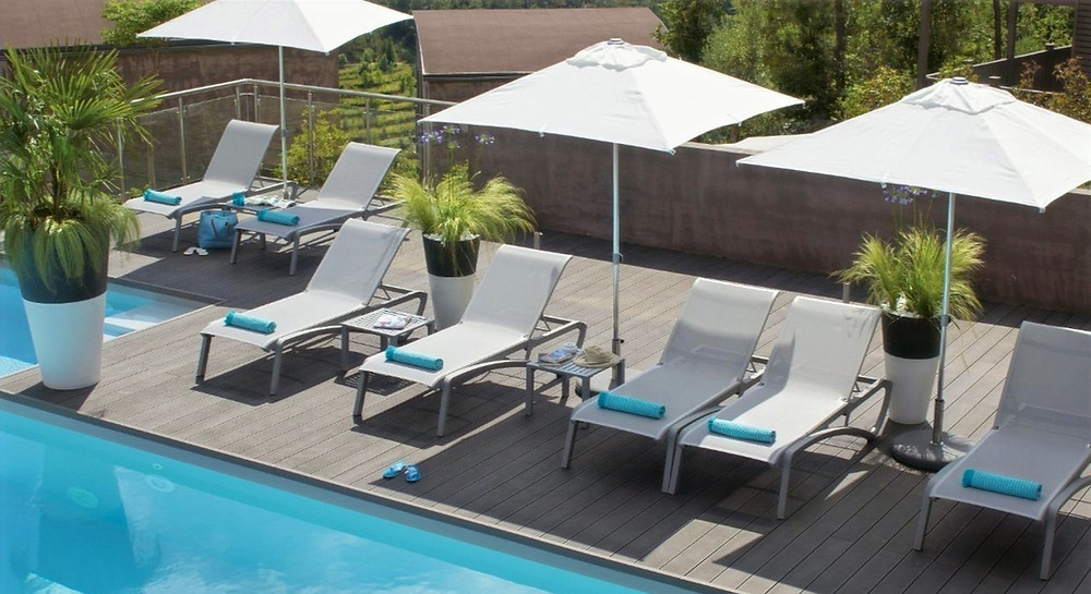 Contract Furnishings International, Commercial Furniture USA, Resin Commercial Outdoor Pool Patio Furniture
