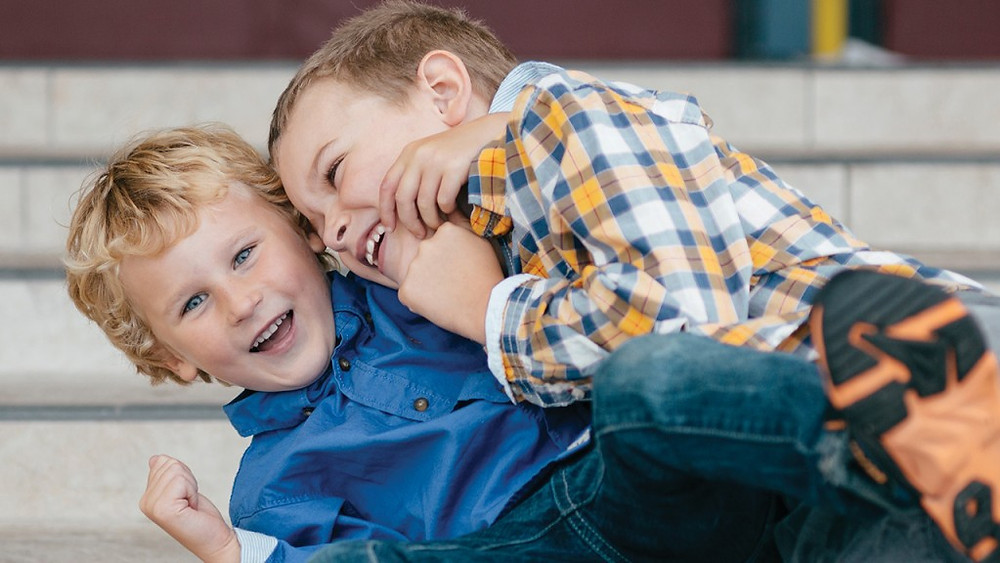 What to do when your kid won't stop play-fighting BY CORINNA VANGERWEN