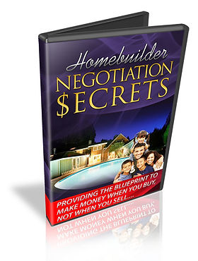 Sarasota New Homes, Homebuilder Secrets, Home Negotiation, Negotiation Secrets
