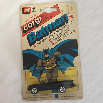 Batman, corgi, Batmobile corgi Die-Cast, vintage, collectible toys, batman, star wars, star trek, simpsons,