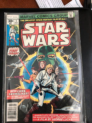 Star Wars #1 - Marvel - 1977