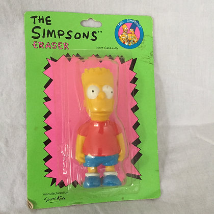 1990 Bart Simpson Eraser
