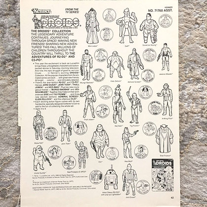 Kenner Droids Clip Art by Kwikee-1985 - Features VLIX