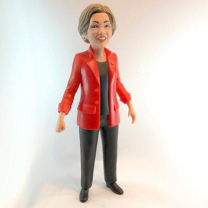 "ELIZABETH WARREN - 6"" Political loose Action Figure - FCTRY"