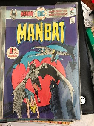 ManBat #1 - DC Comics - 1976