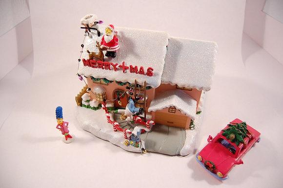 Simpsons 742 Evergreen Terrace  Christmas Set by Hawthorn
