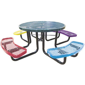 Child Metal Round Picnic Table