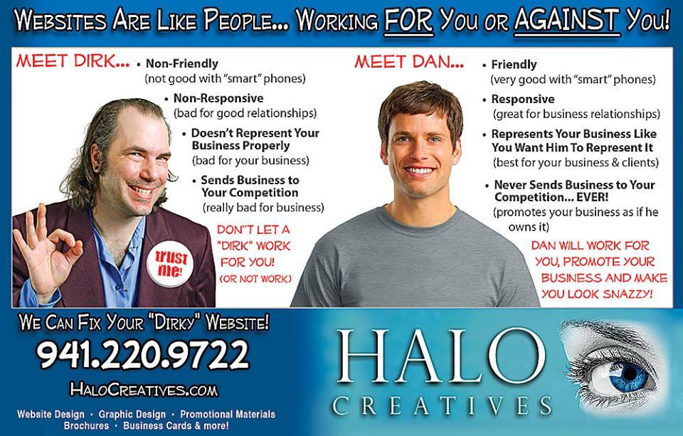 Halo Creatives Website Design
