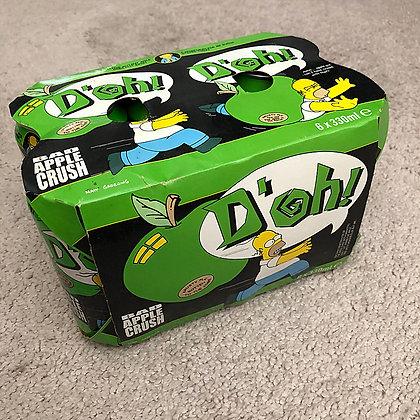 Simpsons Bad Apple Crush Soda 6-Pack