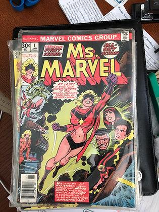 Ms. Marvel #1 - Marvel 1977