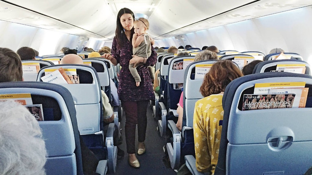 Tips to survive flying with a toddler