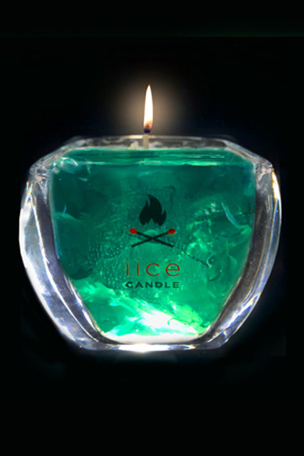 12 oz. green diamond iice candle