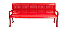 RF72-PERF 6' Perforated Bench surface mount