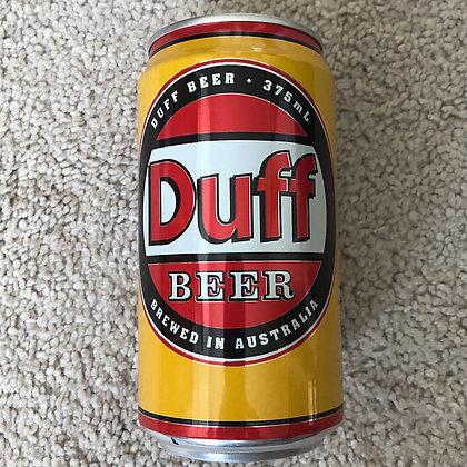 Duff Beer Can - Australian - 1995 - empty
