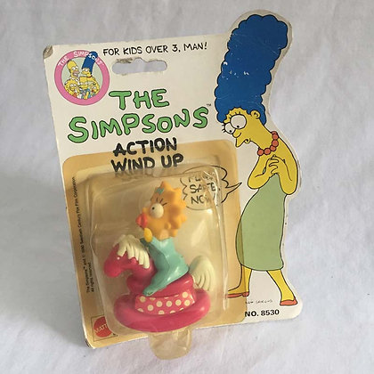Simpsons, Mattel Wind Up, Maggie, collectible, toys, batman, pee wee herman, star wars, star trek, super heroes, weird toy
