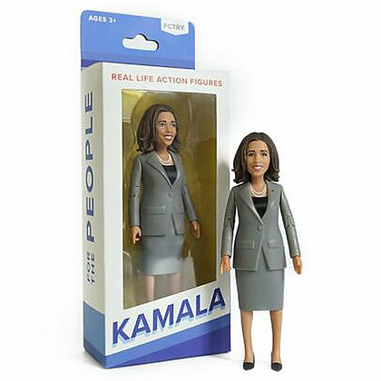 "KAMALA HARRIS - 6"" Political loose Action Figure - FCTRY"