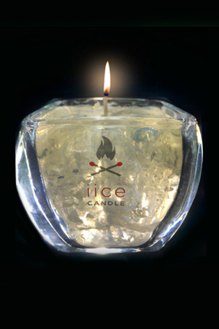 28 oz. clear diamond iice candle