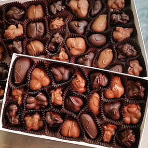 Chocolate Covered Nut-Assortment