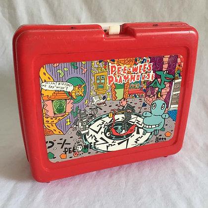 Pee Wee Herman Plastic Lunch Box, Pee Wee Herman, collectibles toys, batman, star wars, star trek, simpsons, super heroes, w