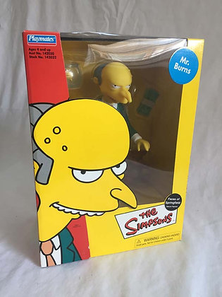 simpsons, montgomery burns, playmates, collectibles toys, batman, pee wee herman, star wars, star trek, super heroes, weird