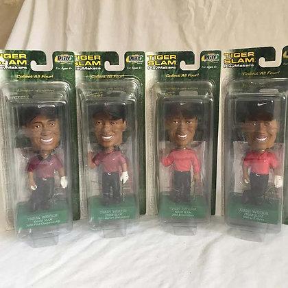 Tiger Woods, nodders, bobbleheads,  toys, pee wee herman, star wars, star trek, simpsons, super heroes, weird toys