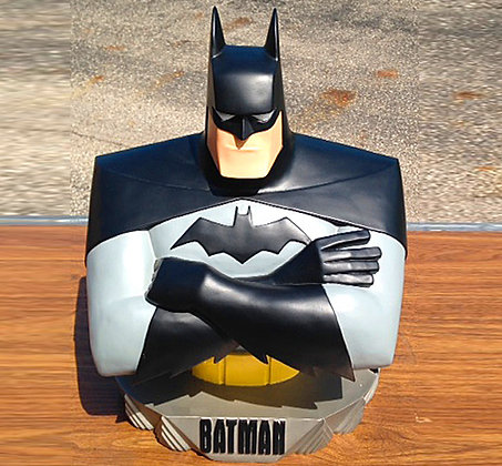 Batman, Batman Animated Series Maquette, ninja turtles, collectibles toys, batman, star wars, stark trek, simpsons, super he