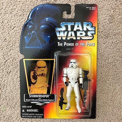 Star Wars - POTF - 1995 Kenner -Stormtrooper - RED CARD - MIP