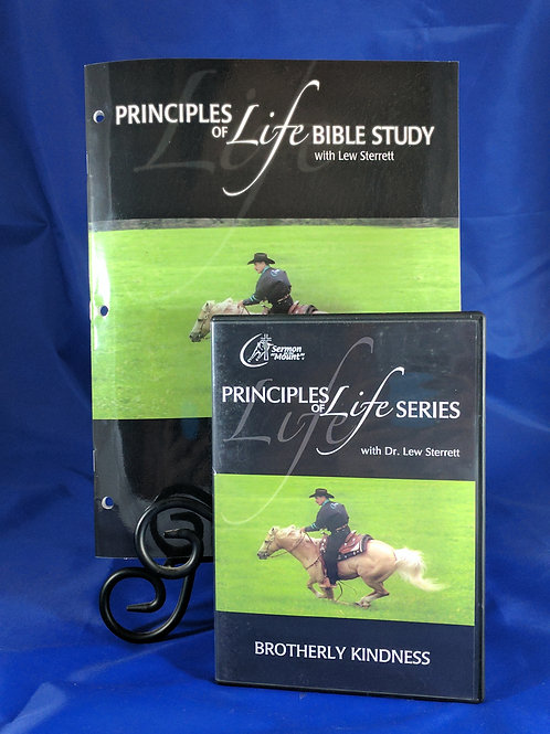 Principles of Life Series #7 Brotherly Kindness with Workbook