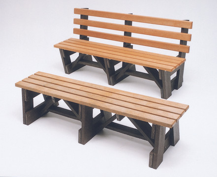 6' Boardwalk Bench -Recycled Poly Lumber