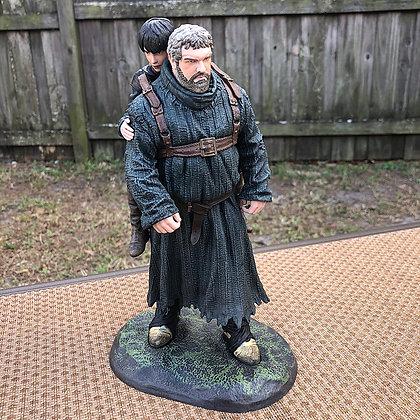 Game of Thrones Hodor & Brane Statue 2015