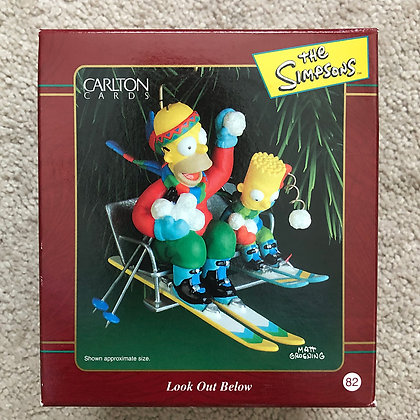 Carlton Christmas Ornament - 2000 - MIB