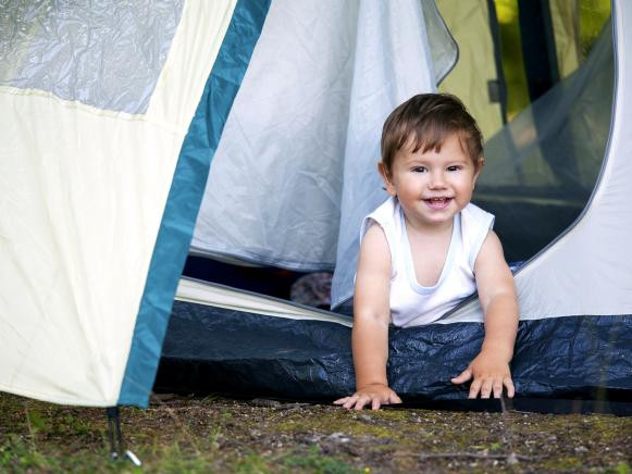 A Guide to Camping with Infants and Toddlers